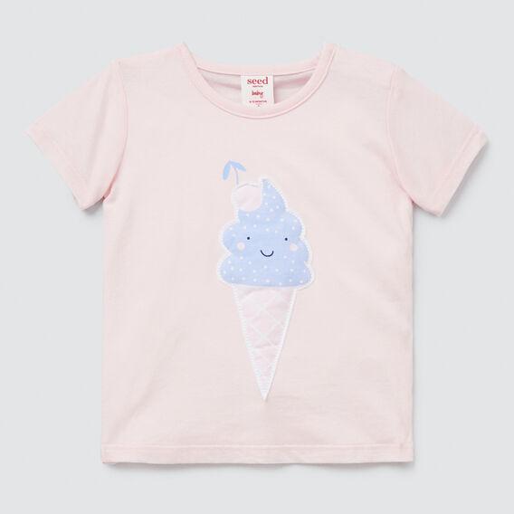 Ice Cream Tee  ICE PINK  hi-res