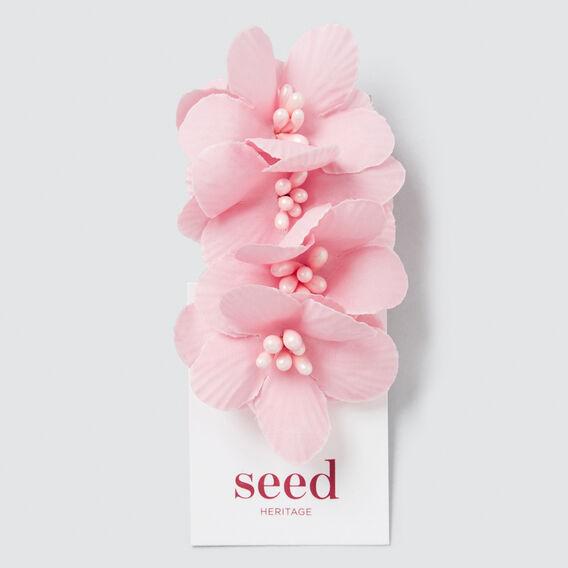 Musk Pink Flower On Duck Clip  MUSK PINK  hi-res