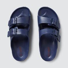 Double Buckle Slides  BLUE  hi-res