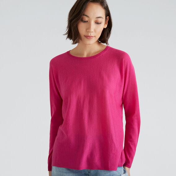 Babywool Sweater  BOLD FUCHSIA  hi-res