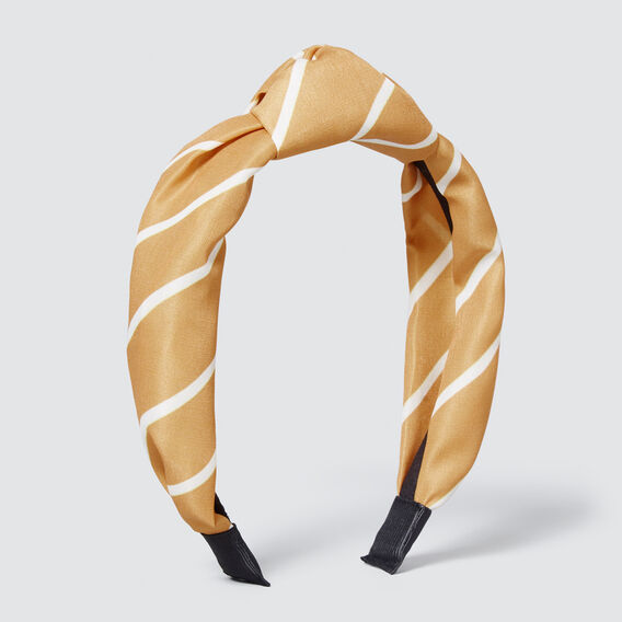 Knot Headband  STRIPE  hi-res