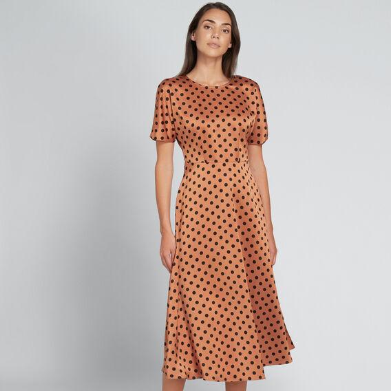Flowing Spot Dress  SPOT  hi-res