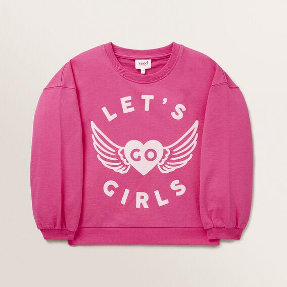 Go Girls Windcheater  FUCHSIA  hi-res