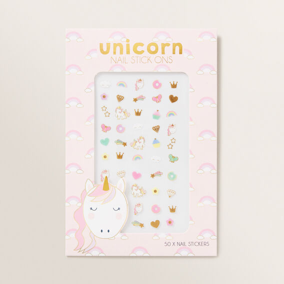 Unicorn Nail Stickers  MULTI  hi-res