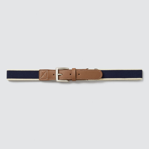 Elastic Belt  NAVY  hi-res