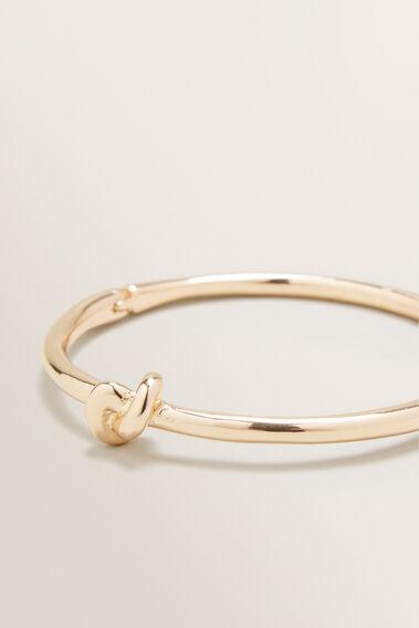 Knot Bangle  GOLD  hi-res