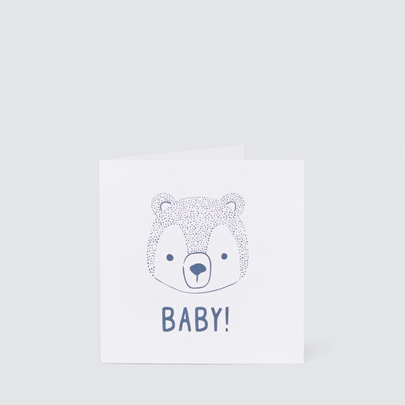 Small Baby Bear Card  MULTI  hi-res