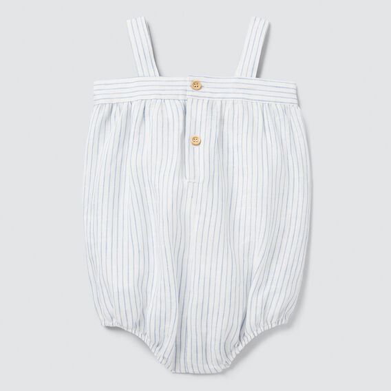 Woven Stripe Onesie  CANVAS  hi-res