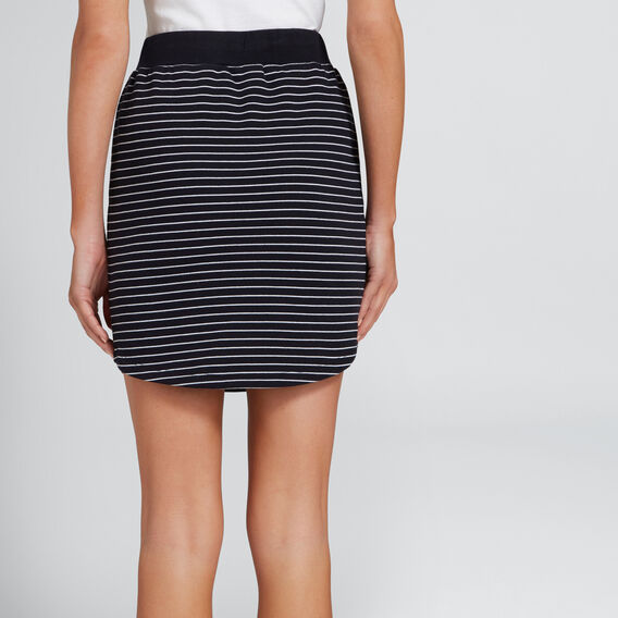 Terry Skirt  DEEP NAVY STRIPE  hi-res