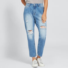 Distressed Jean  CLASSIC DENIM  hi-res