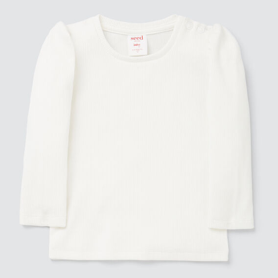Puff Sleeve Tee  CANVAS  hi-res