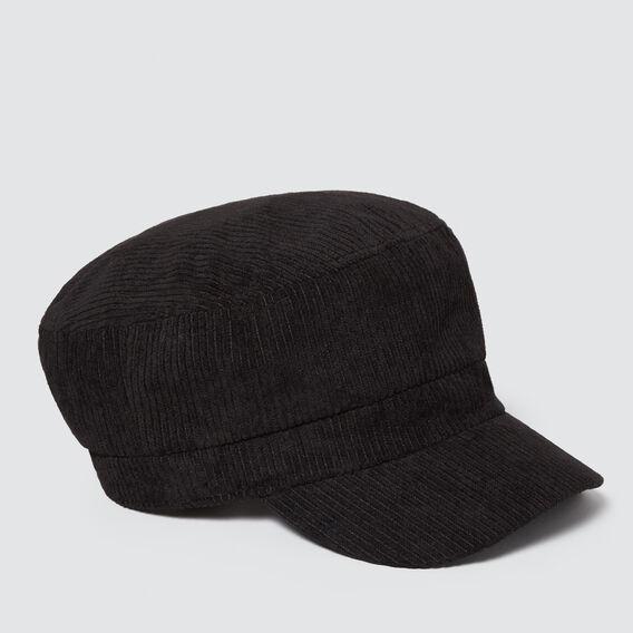 Baker Boy Cap  BLACK  hi-res