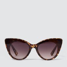 Hilary Cat Eye Sunglasses  TORT  hi-res