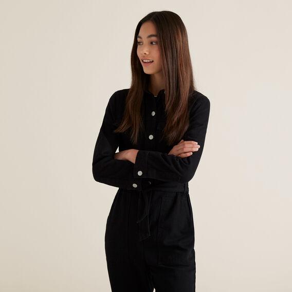 Boiler Suit  BLACK  hi-res