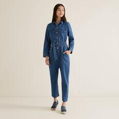 Boiler Suit  MID INDIGO  hi-res