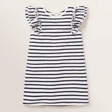 Stripe Pocket Dress  NAVY  hi-res