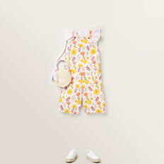 Floral Print Overall  MULTI  hi-res