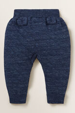 Double Knit Trackie  NAVY SPACE DYE  hi-res