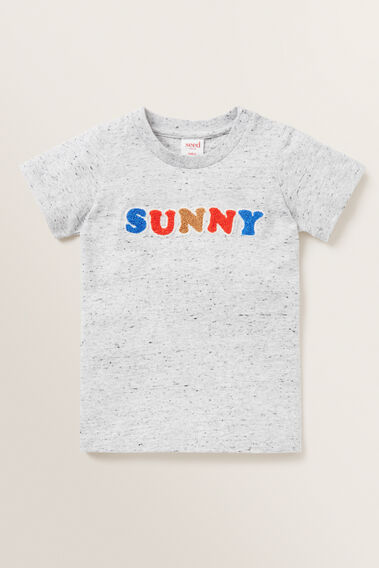 Sunny Tee  CLOUDY MARLE  hi-res