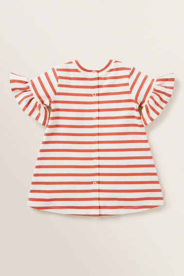 Stripe Jersey Dress  GINGER SPICE  hi-res