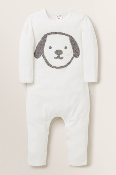 Puppy Jumpsuit  CANVAS  hi-res