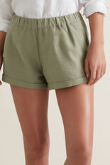 Casual Shorts  WASHED OLIVE  hi-res