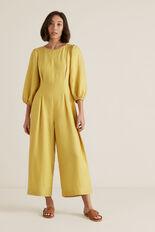 Blouson Sleeve Jumpsuit  DUSTY MARIGOLD  hi-res