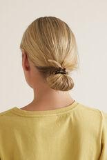 Tort Detail Hair Ties  ORANGE TORT  hi-res