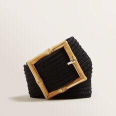 Bamboo Stretch Belt  BLACK  hi-res