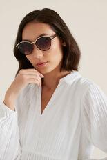 Fergie Round Sunglasses  TORT  hi-res