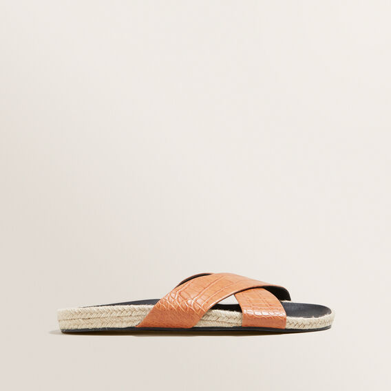 Chloe Cross Over Slides by Seed Heritage