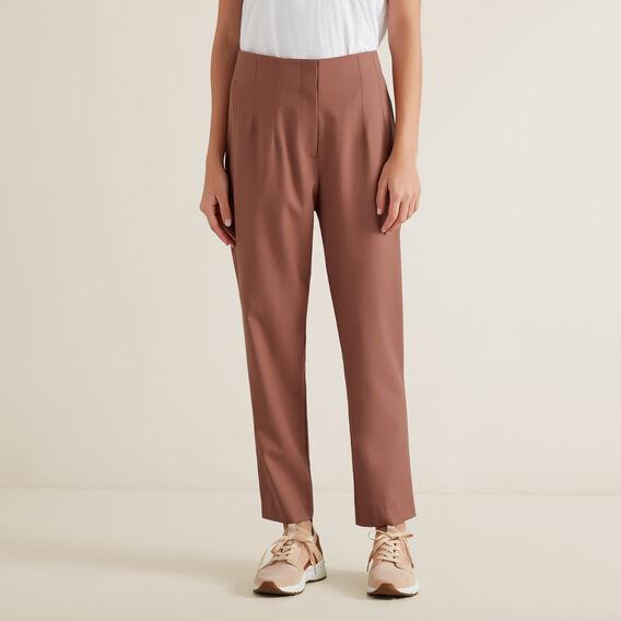Wool Blend Trouser  WASHED ROSE  hi-res