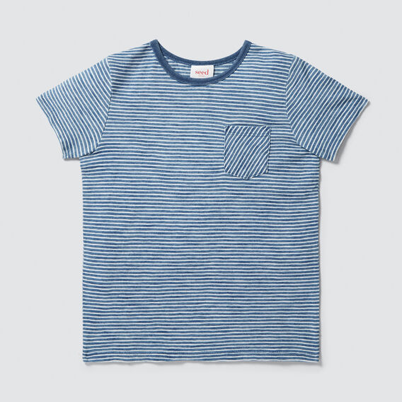 Basic Tee  LIGHT INDIGO  hi-res