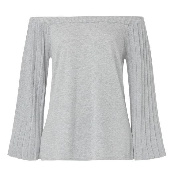 Constantina Sweater  MID GREY MARLE  hi-res