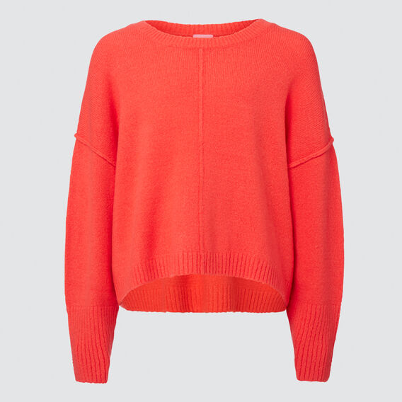 Cropped Sweater  STRAWBERRY  hi-res