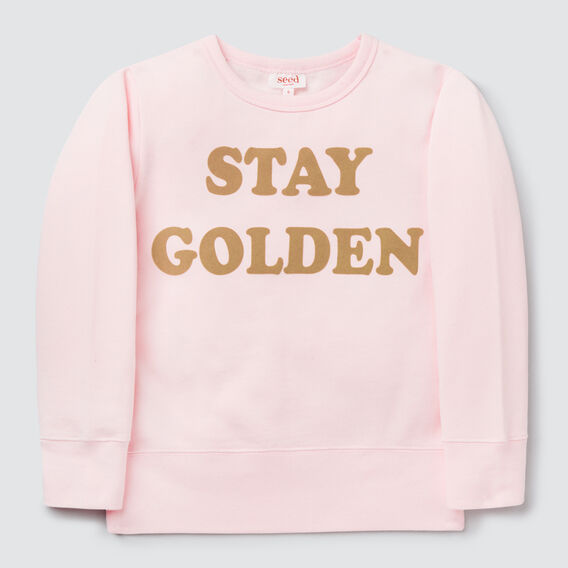 Stay Golden Windcheater  ICE PINK  hi-res