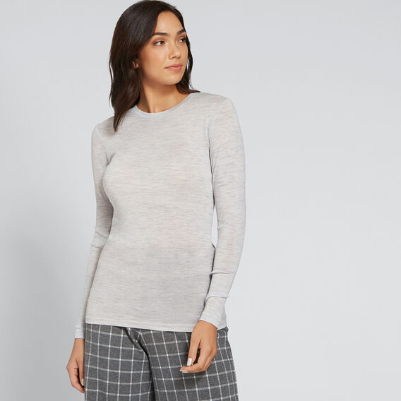 Babywool Layering Sweater  LIGHT ASH MARLE  hi-res