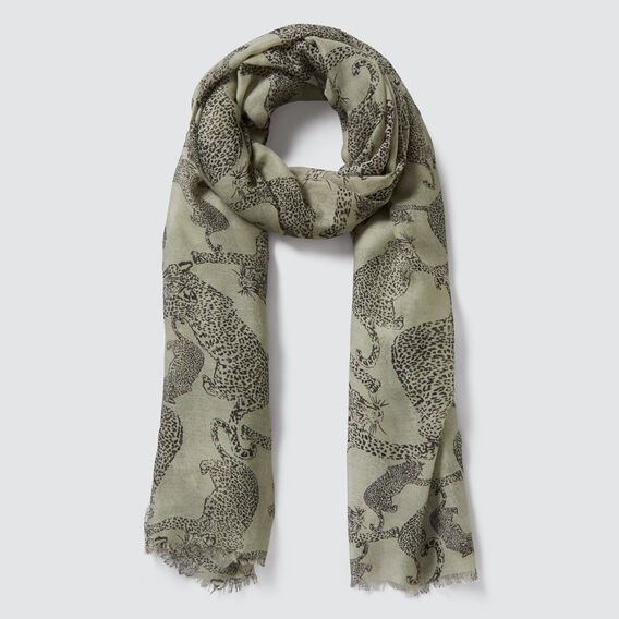 Wildcat Scarf  FADED OLIVE/BLACK  hi-res