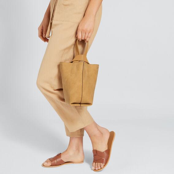 Relaxed Bucket Bag  CAMEL  hi-res