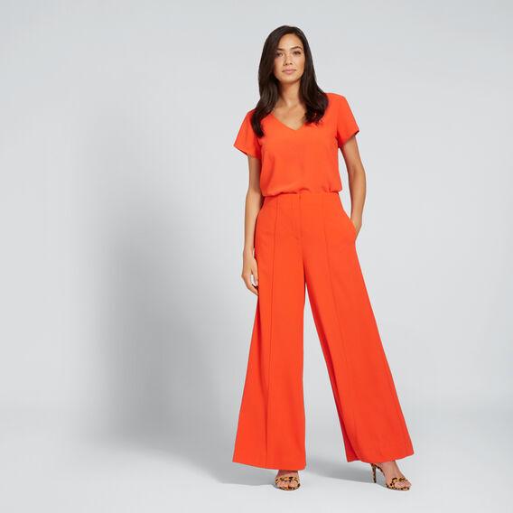 Wide Leg Pant  SPANISH RED  hi-res