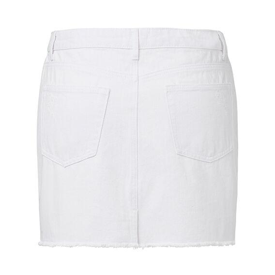 Denim Mini  WHITE  hi-res