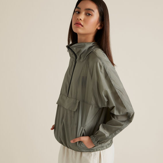 Packable Spray Jacket  SAGE  hi-res
