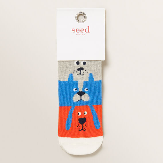Stack-A-Dog Sock  MULTI  hi-res