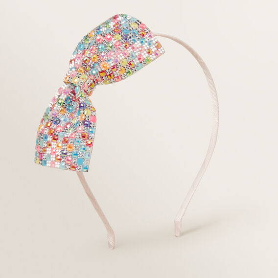 Gem Bow Headband  MULTI  hi-res