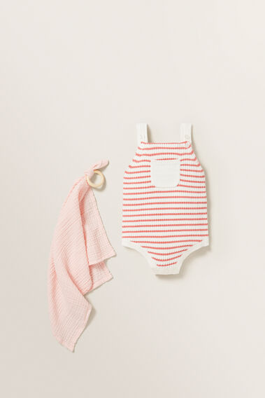 Knitted Romper  NB CANVAS  hi-res