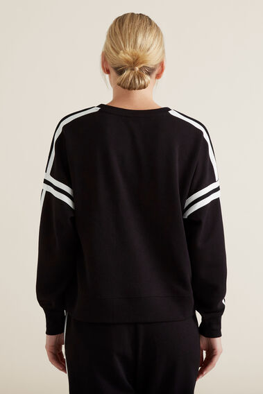 Sporty Sweat  BLACK  hi-res