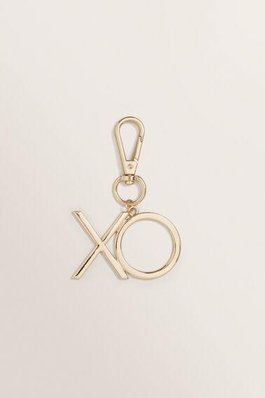XO Keyring  GOLD  hi-res