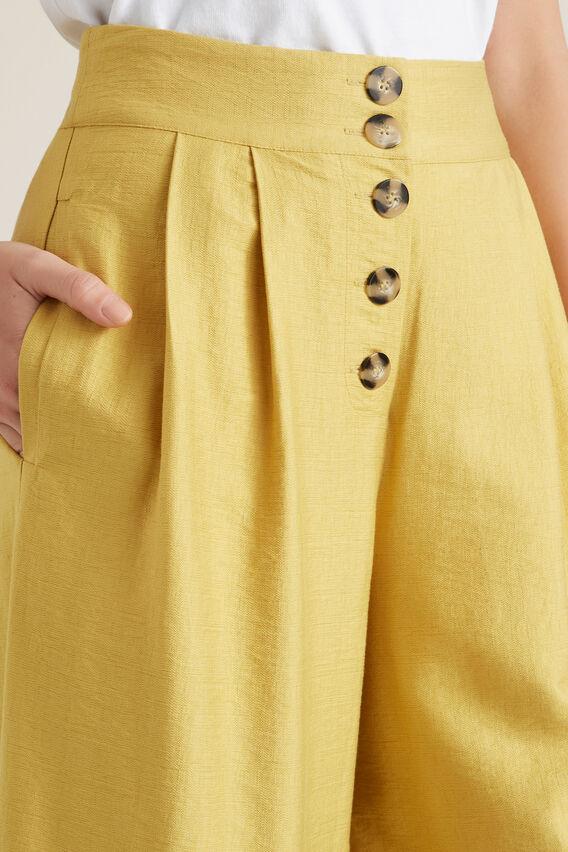 Textured Culotte  DUSTY MARIGOLD  hi-res