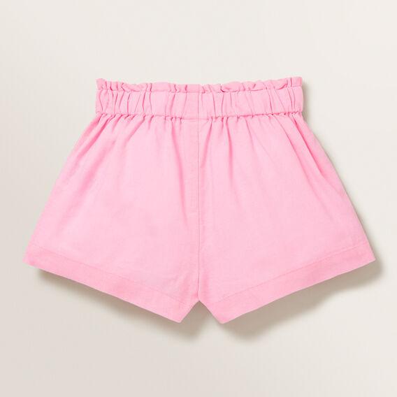 Linen Shorts  PINK BLUSH  hi-res