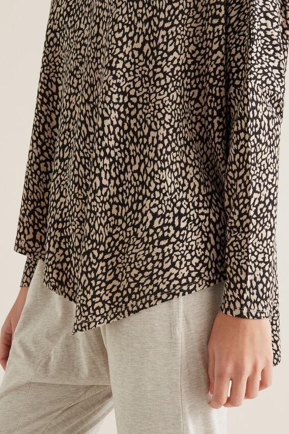 Asymmetric Sweater  OCELOT  hi-res